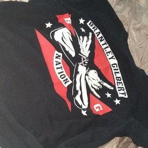 Brantley Gilbert concert T-shirt